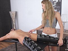 Tortured by tickling and vibrating
