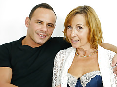 Old woman Lotty Blue enjoys deep dicking