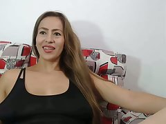 my horny stepmom lactactes above webcam