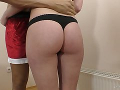 Natural buxom GF Molly OConnor loves facesitting and horny friar